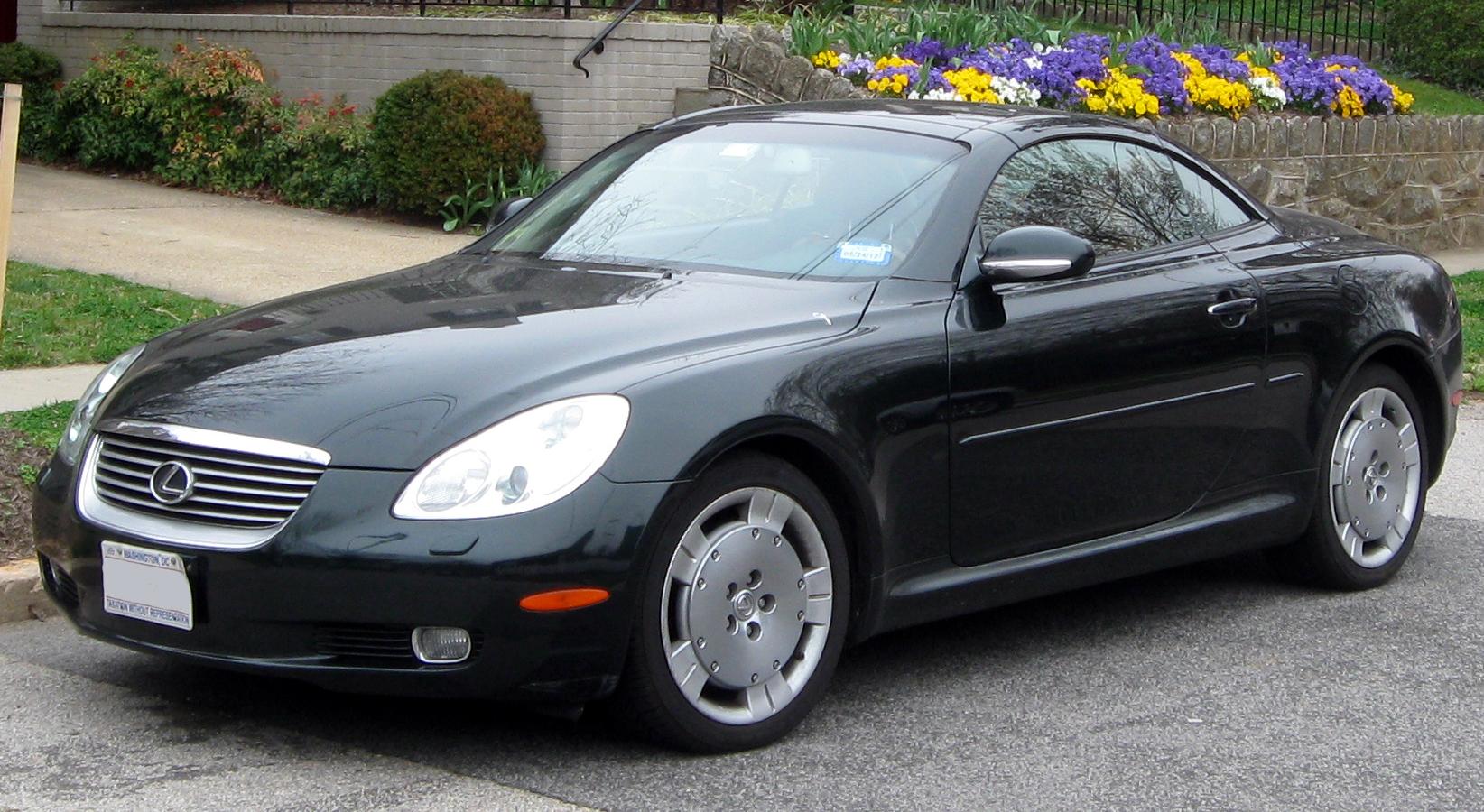 File 2001 2005 Lexus Sc430 03 16 2012 Jpg Wikimedia