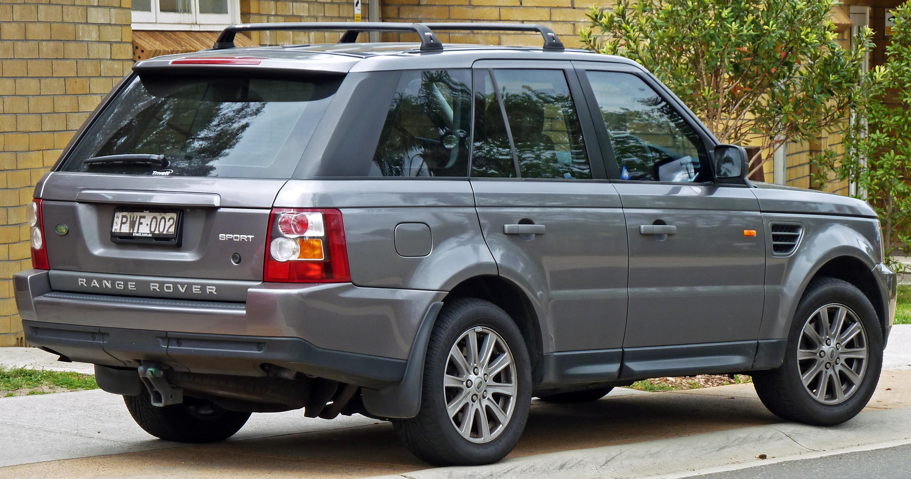 File:2005-2008 Land Rover Range Rover Sport wagon 03.jpg - Wikimedia