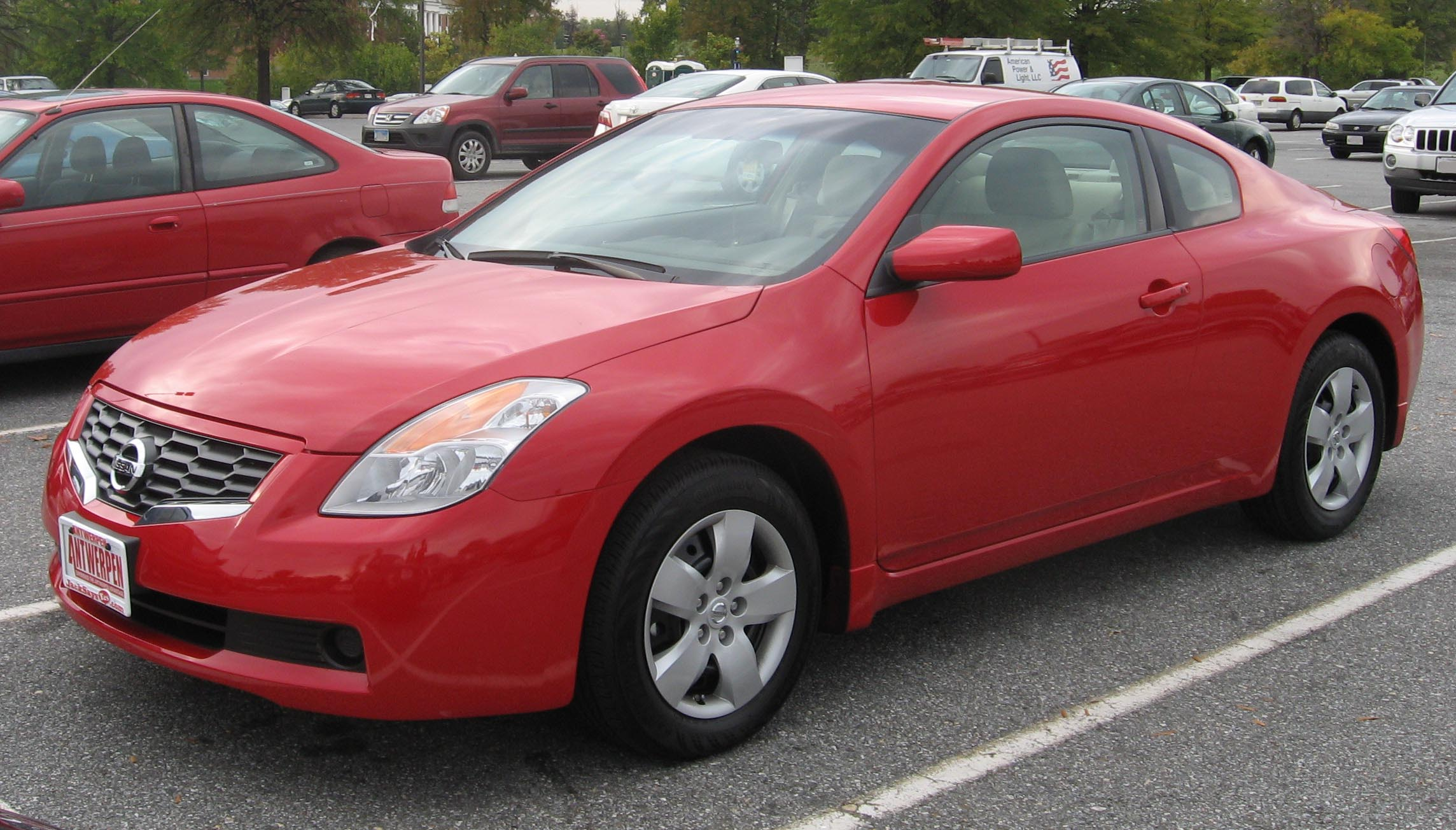 File 2008 Nissan Altima 2 5s Coupe Jpg Wikimedia Commons