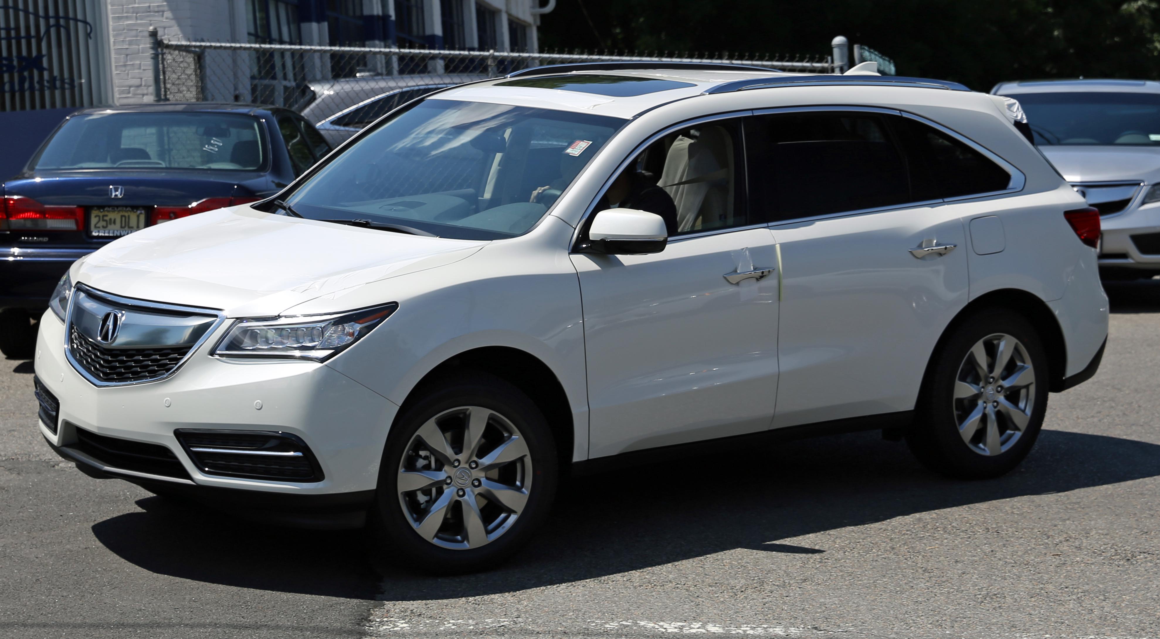 2014 Acura MDX White