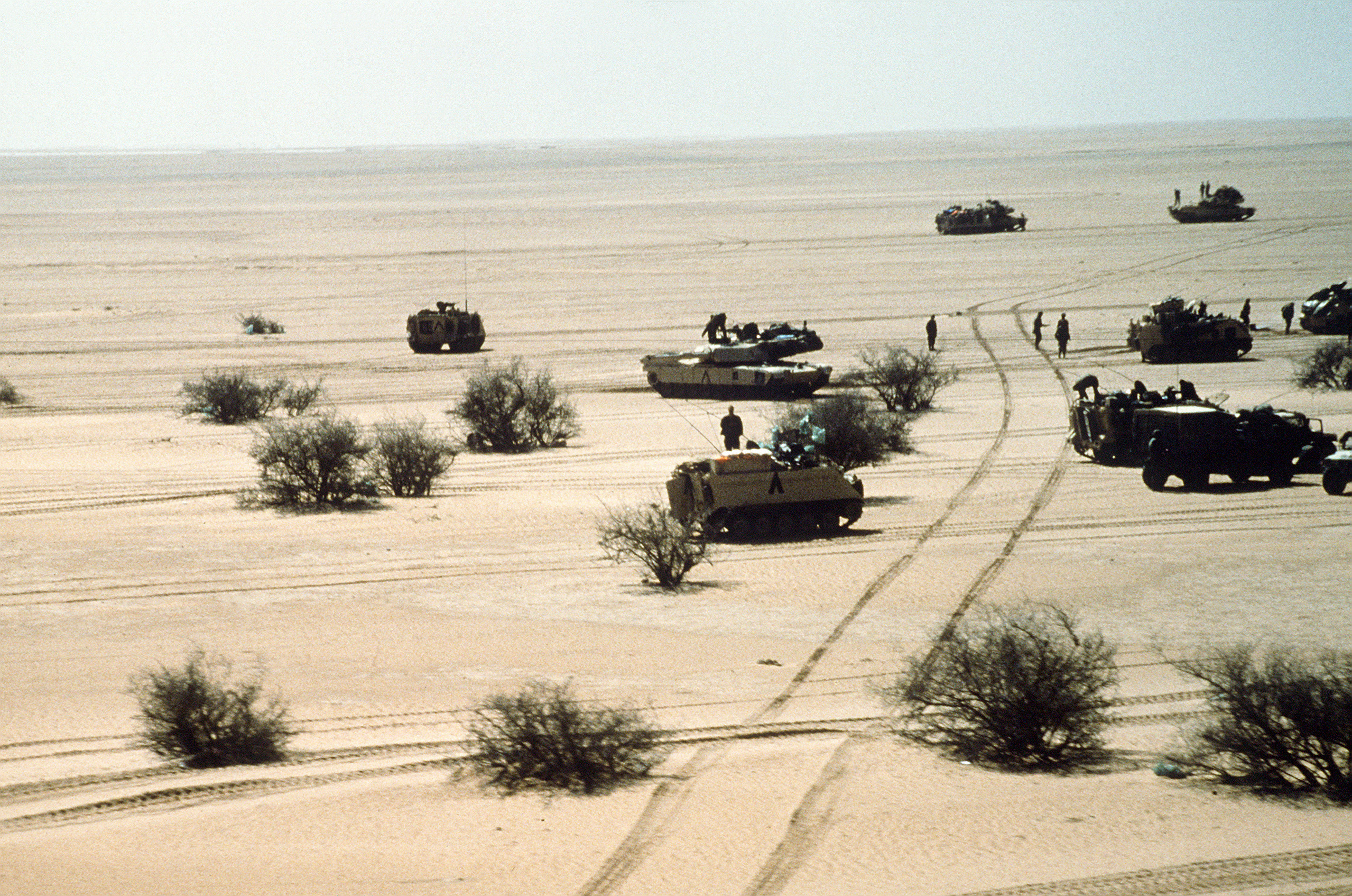 file rd armored division during the gulf war jpeg file 3rd armored division during the gulf war jpeg
