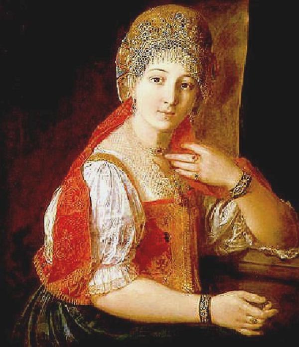 File:A Young Girl In Russian Folk Dress (Aleksandr