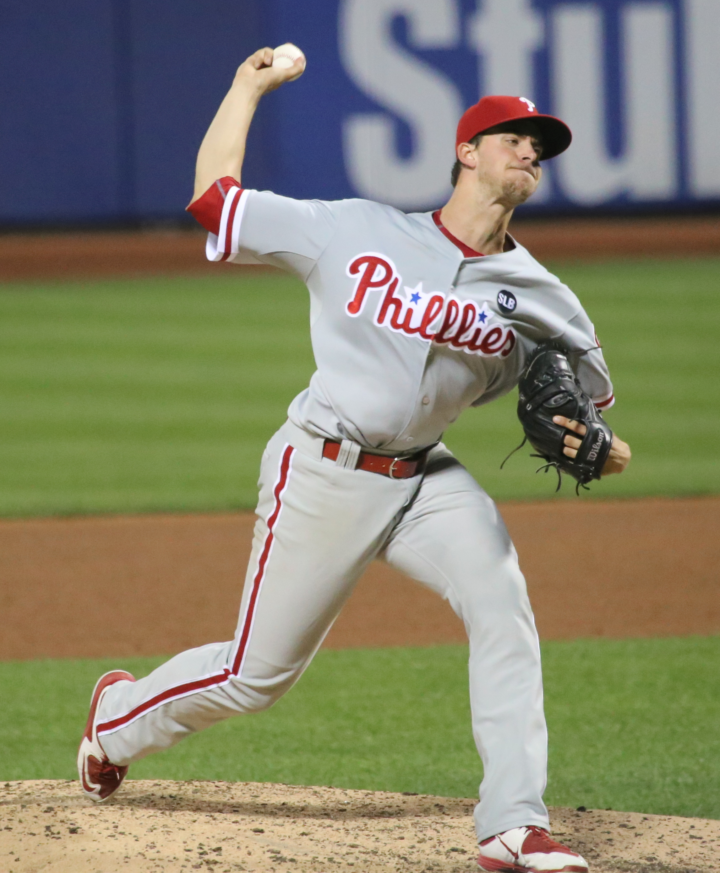 August 14, 2019 -- Led by the hitting of Scott Kingery, the Phillies defeated the Cubs at home, 11 to 1. The Phillies hitting was helped by the pitching of Aaron Nola.