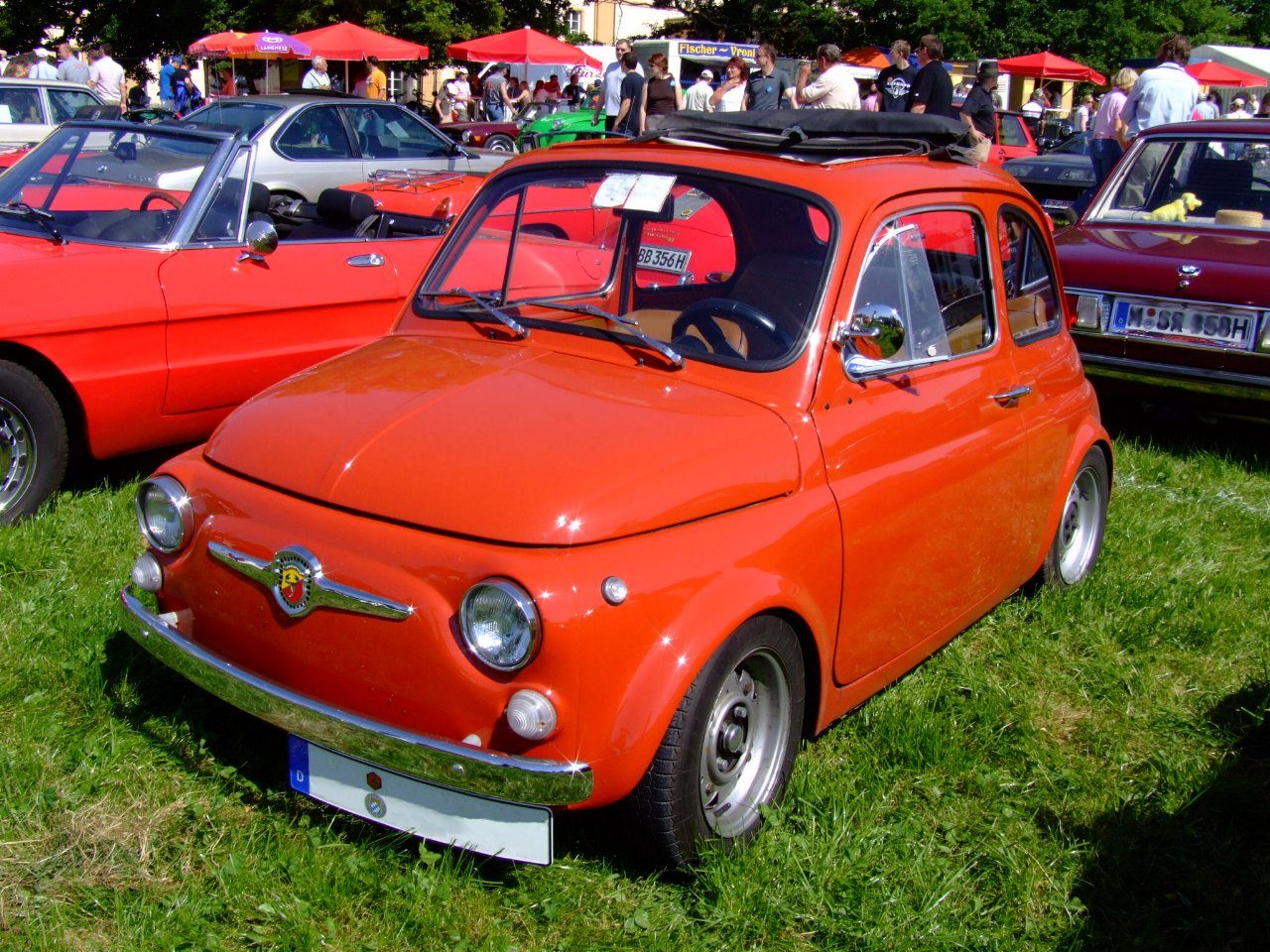 File Abarth Fiat 500 1973 Jpg Wikipedia