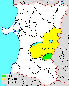 Senboku District, Akita