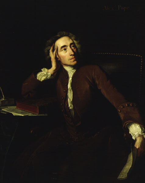 traduzione italiana essay on man alexander pope Alexander pope, an essay on criticism (1711) horace still charms with graceful negligence, and without method talks us into sense.
