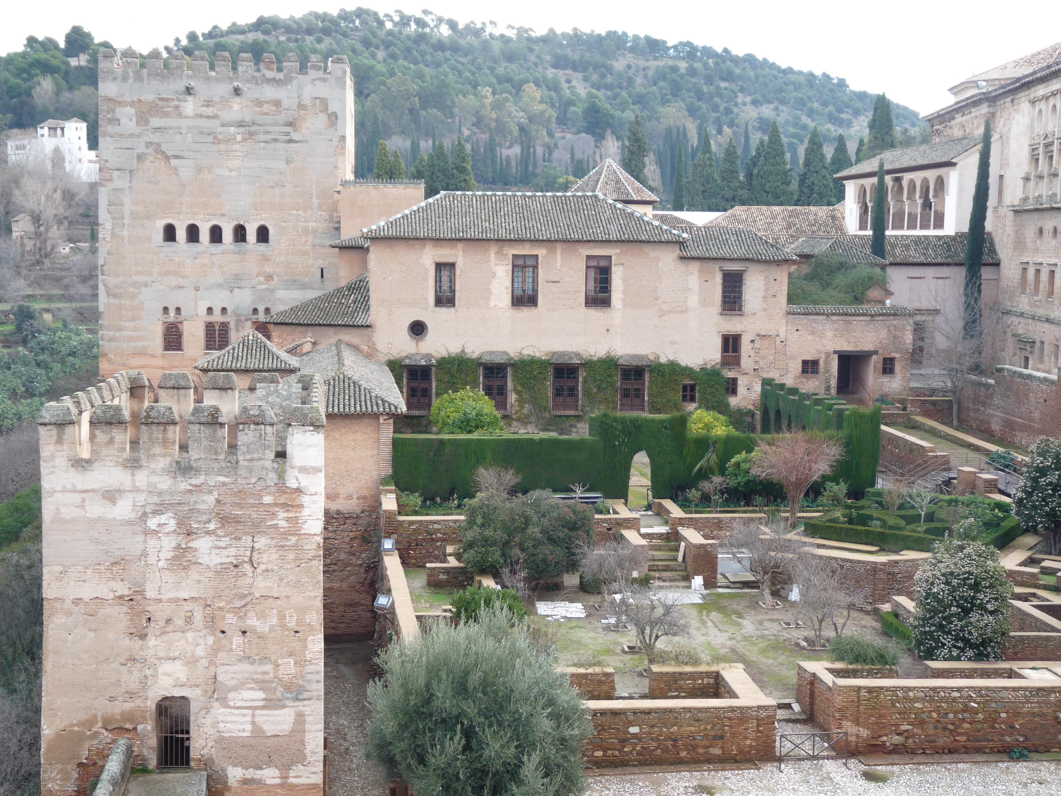 Resultado de imagen de patio de machuca alhambra
