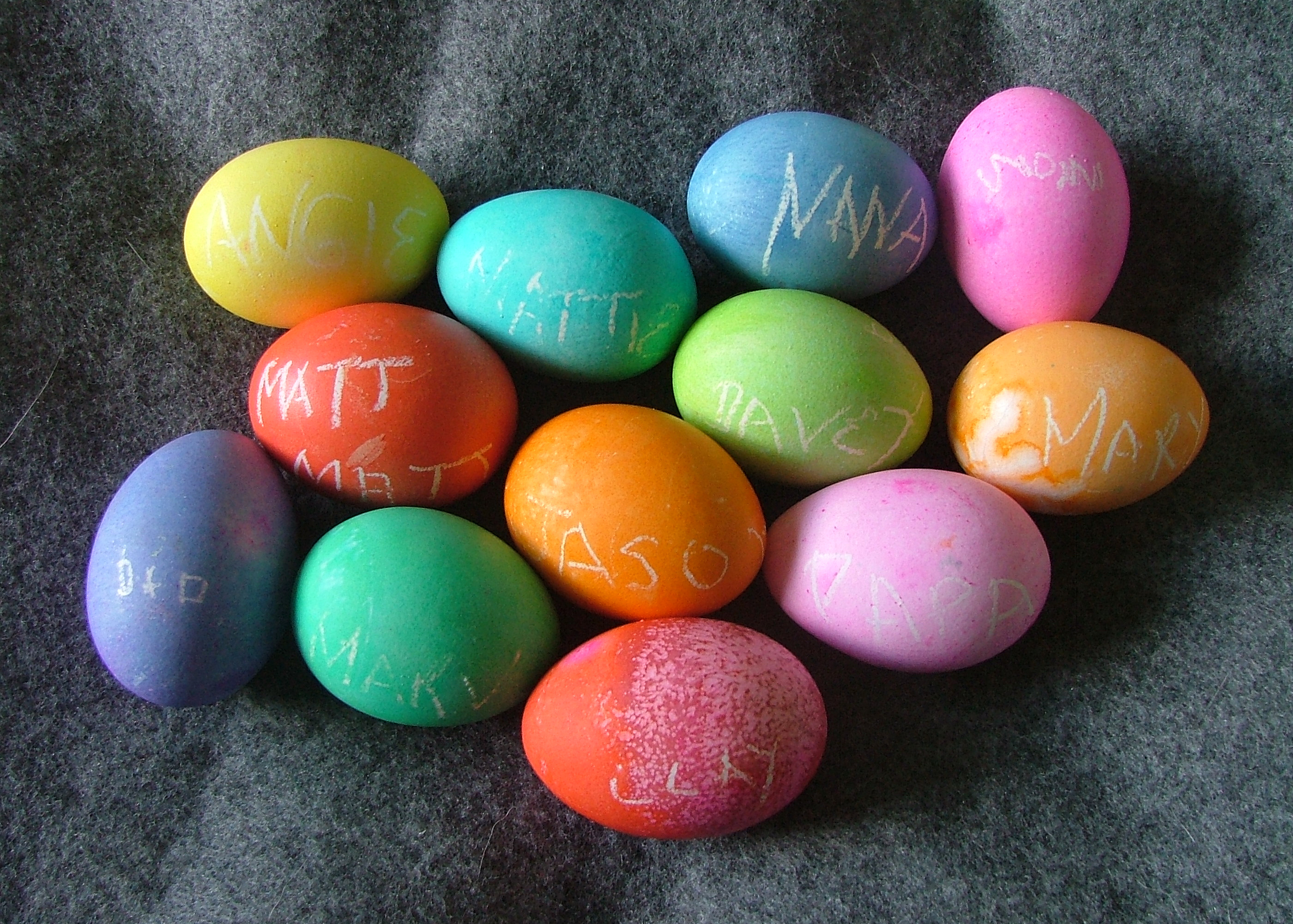 American Easter eggs from Washington