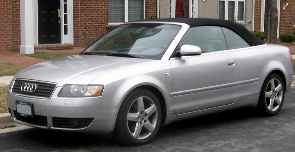 File Audi A4 Convertible Jpg Wikimedia Commons