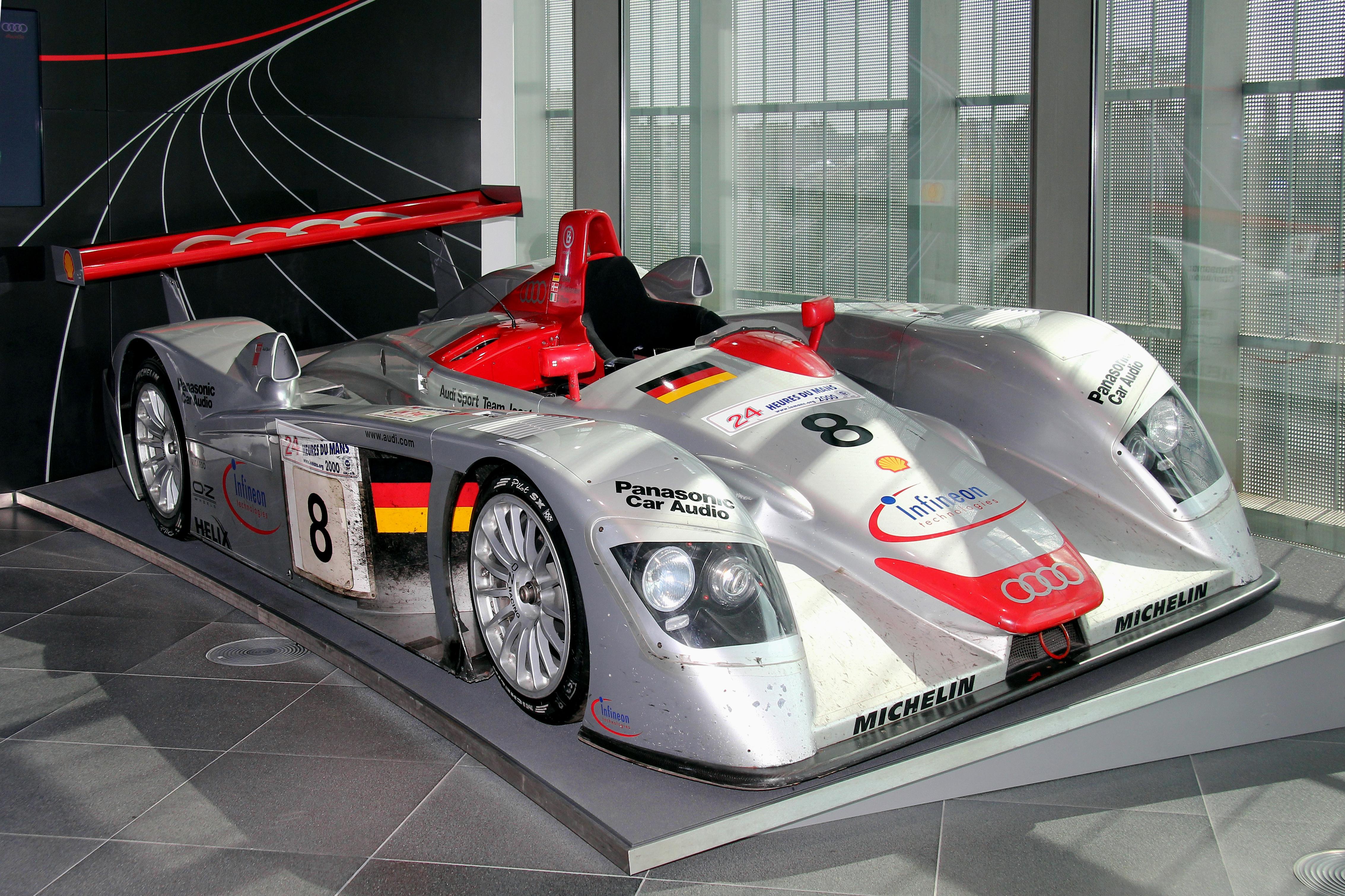 File:Audi R8 LMP, Le Mans 2000 (museum mobile 2013-09-03 ...