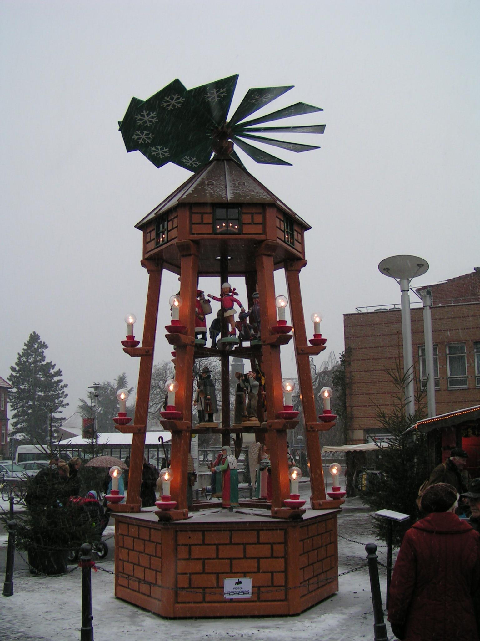 Weihnachtsmarkt Bad Bentheim.Datei Bad Bentheim Weihnachtspyramide Jpg Wikipedia