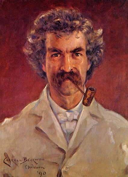 Beckwith Mark Twain Portrait