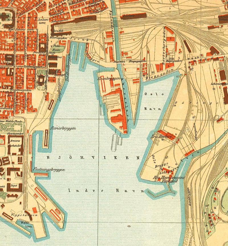 middelalderparken kart Sørenga (historisk område) – Wikipedia middelalderparken kart