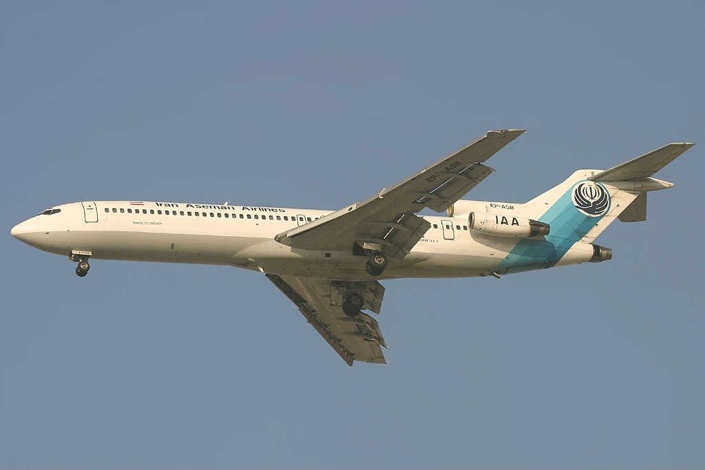 File:Boeing 727-228-Adv, Iran Aseman Airlines AN0715338 ...