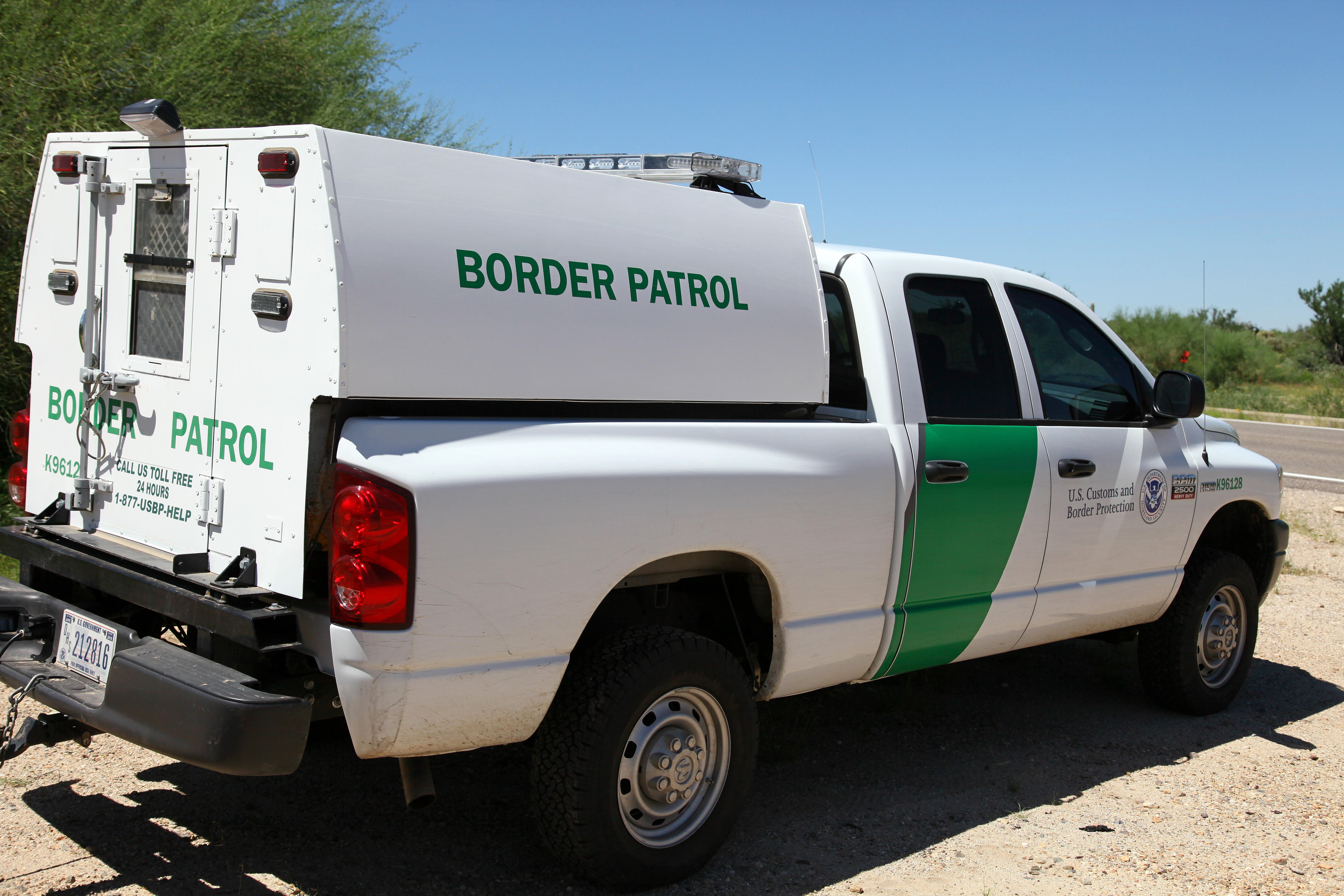 New Border Patrol Car