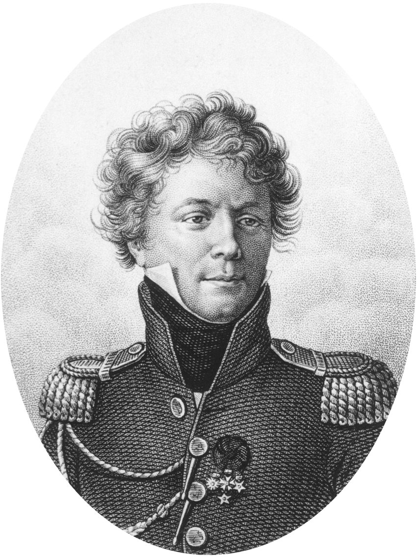 Depiction of Jean-Baptiste Bory de Saint-Vincent