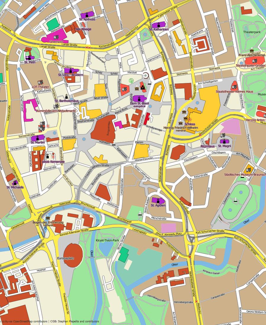 Plan Ville La Baule