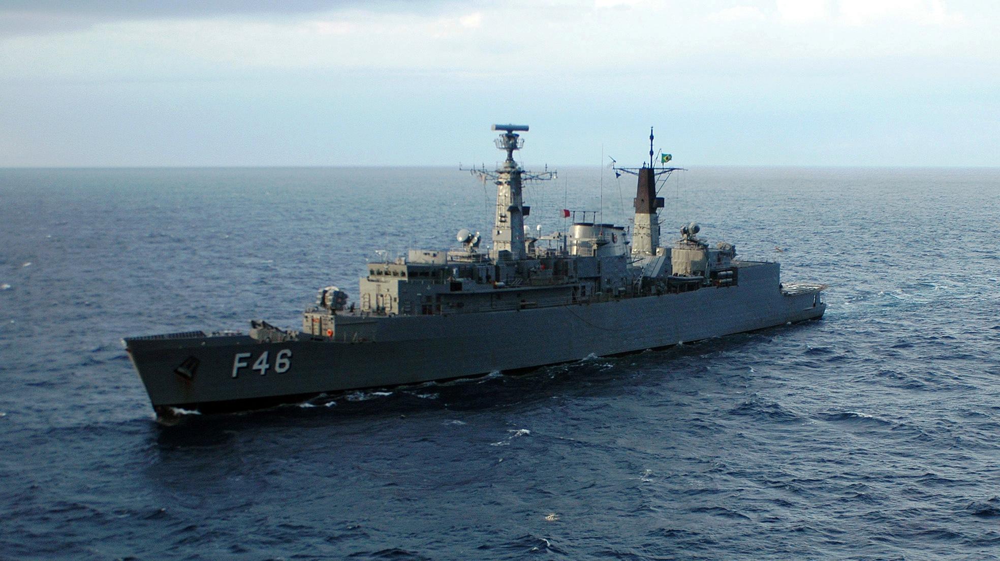 Brazilian Navy Ship Greenhalgh (F-46)