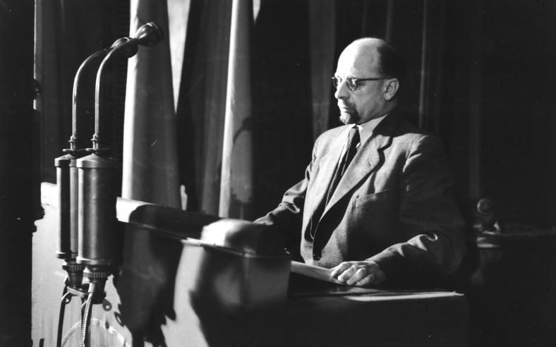 W. Ulbricht na 2. sjezdu SED