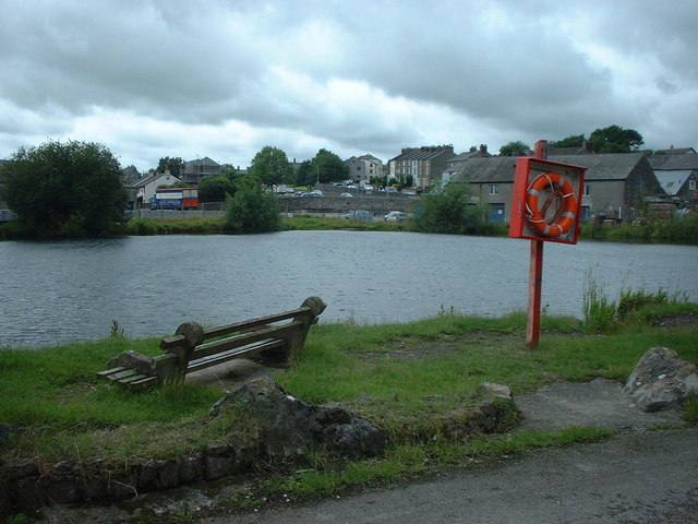 Canal basin at Ulverston - geograph.org.uk - 496605