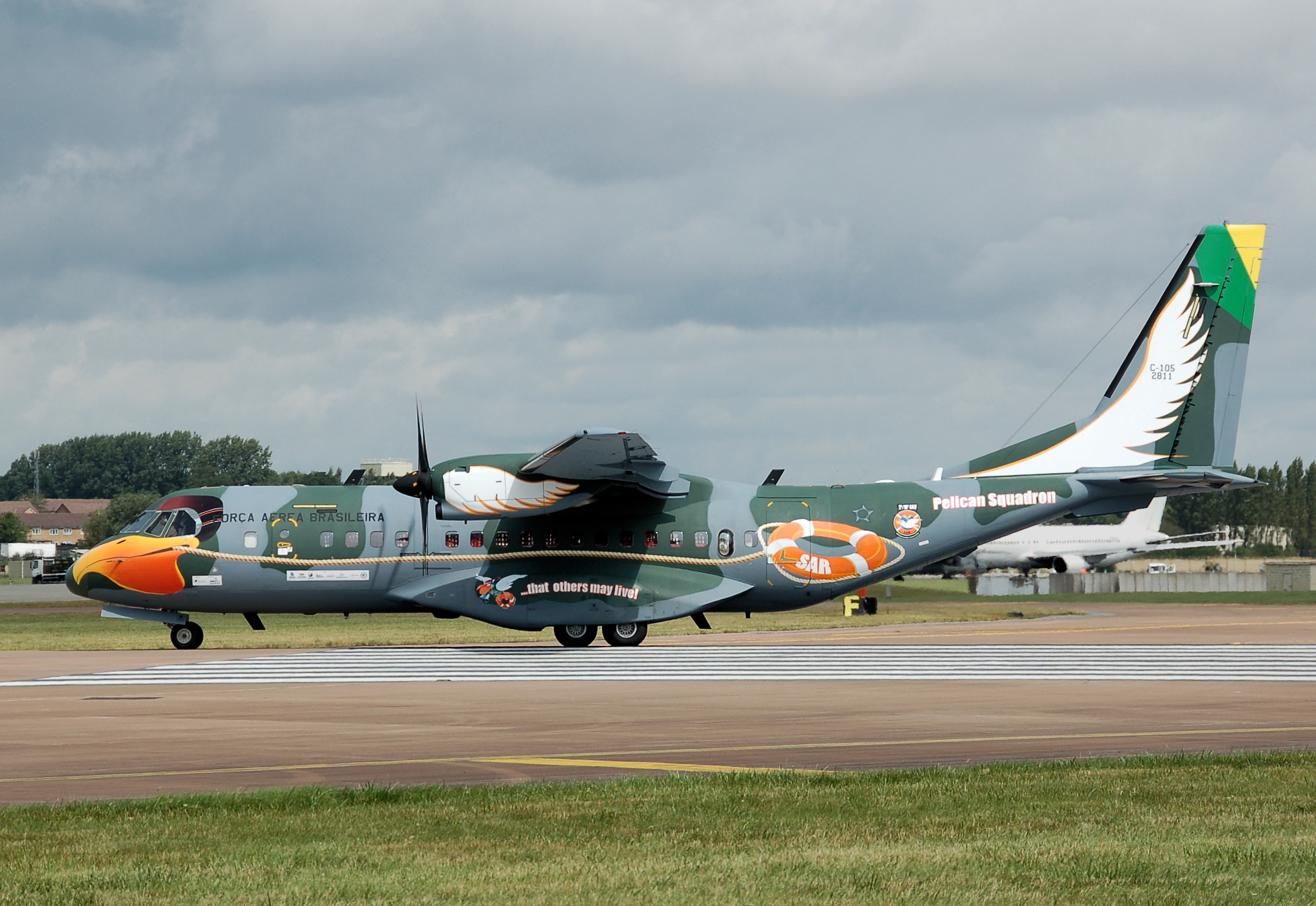 C295 Brazilian AF Pelican Squadron Wings of the West