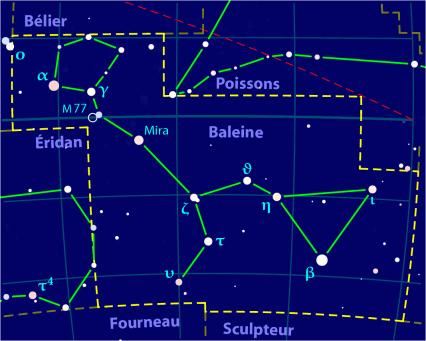Carte pour la constellation Baleine Produite à l'aide du logiciel PP3 - Orthogaffe / Korrigan - Wikimedia Commons