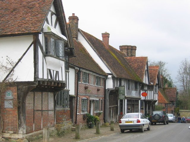 Chiddingstone Village High Street - geograph.org.uk - 151560