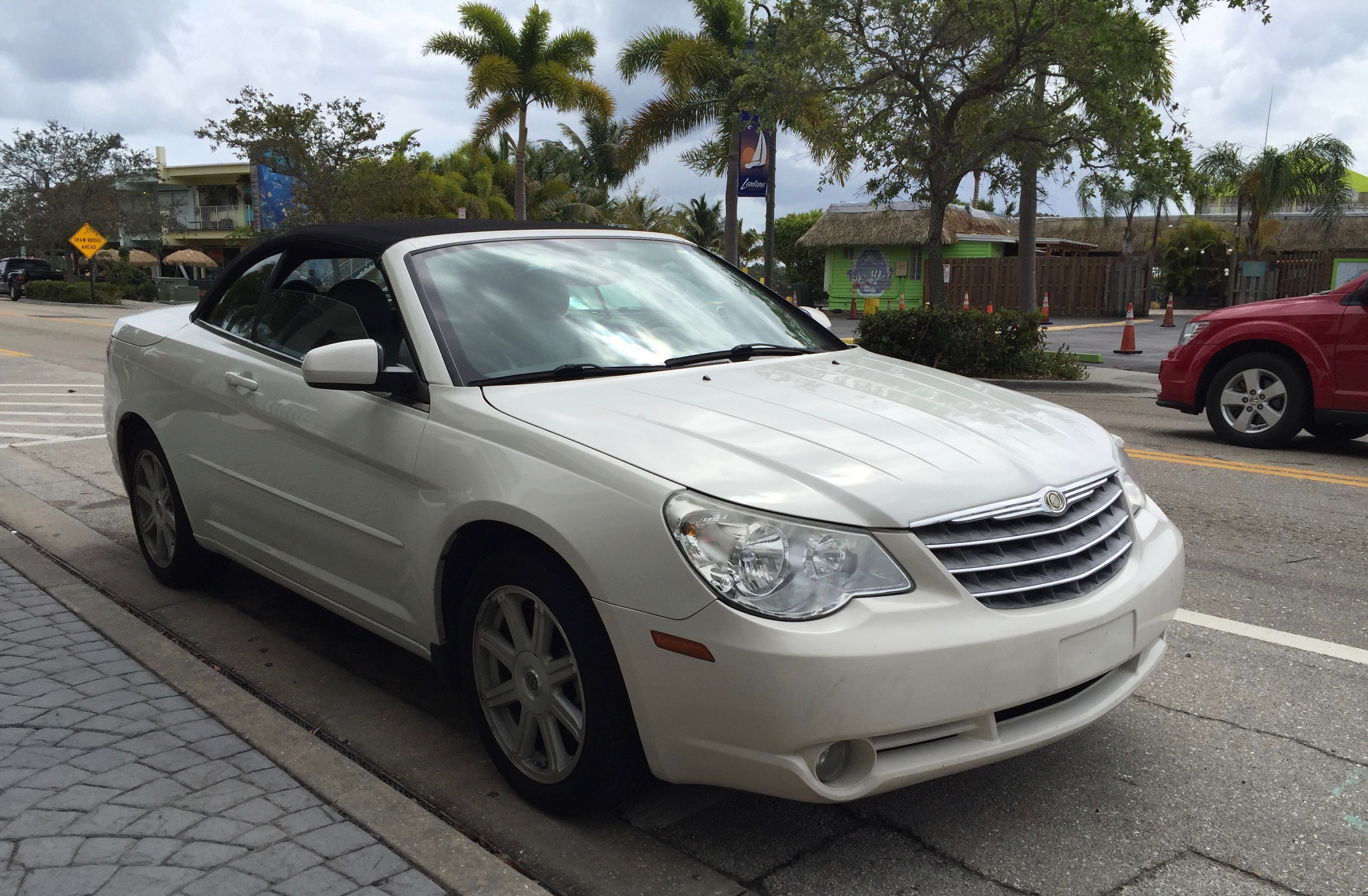 File Chrysler Sebring Convertible Third Generation Js White Lantana 1of2 Jpg