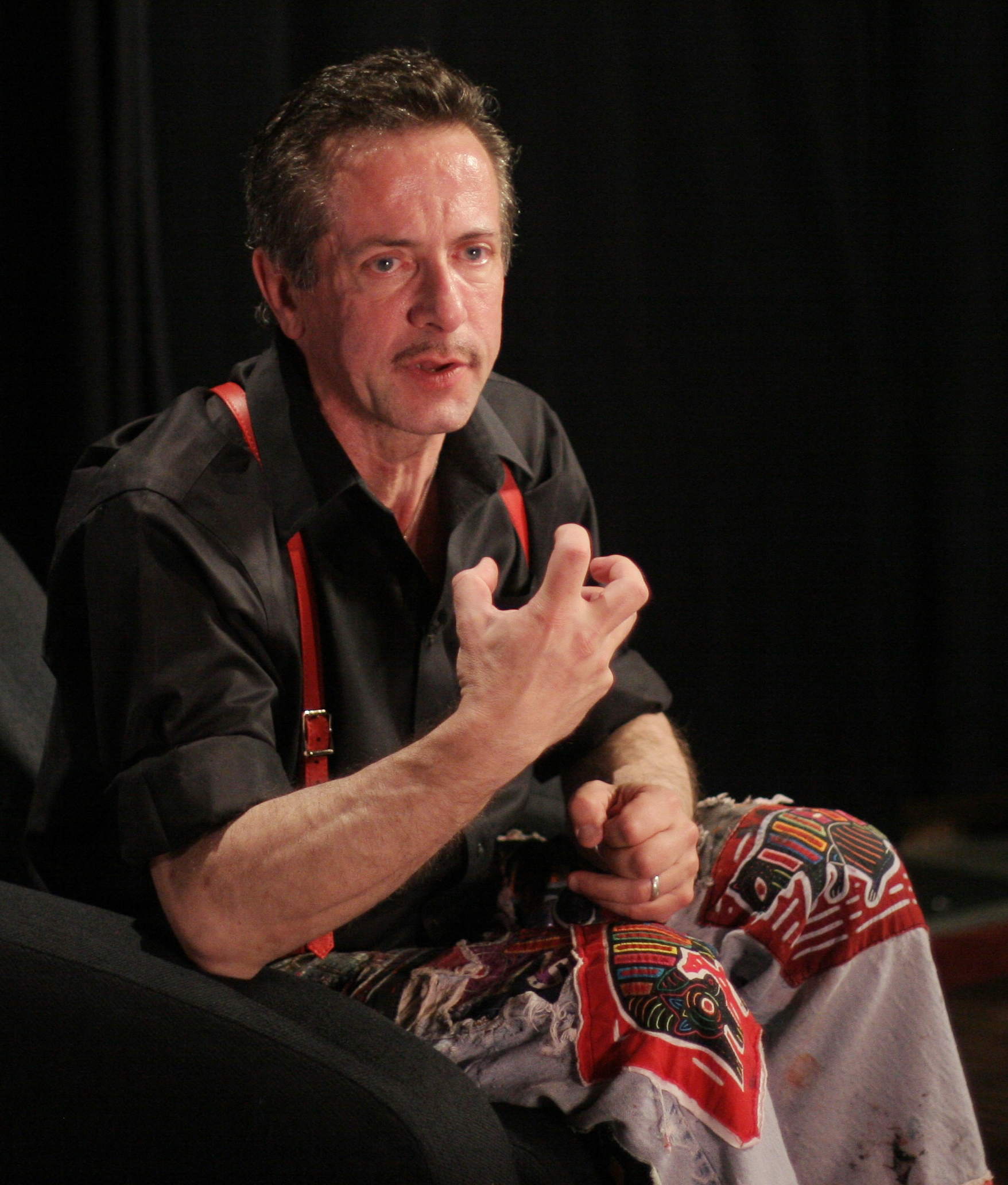 Barker at the [[EMP Museum|Science Fiction Museum]] in 2007