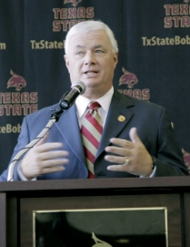 Franchione at Texas State, 2011