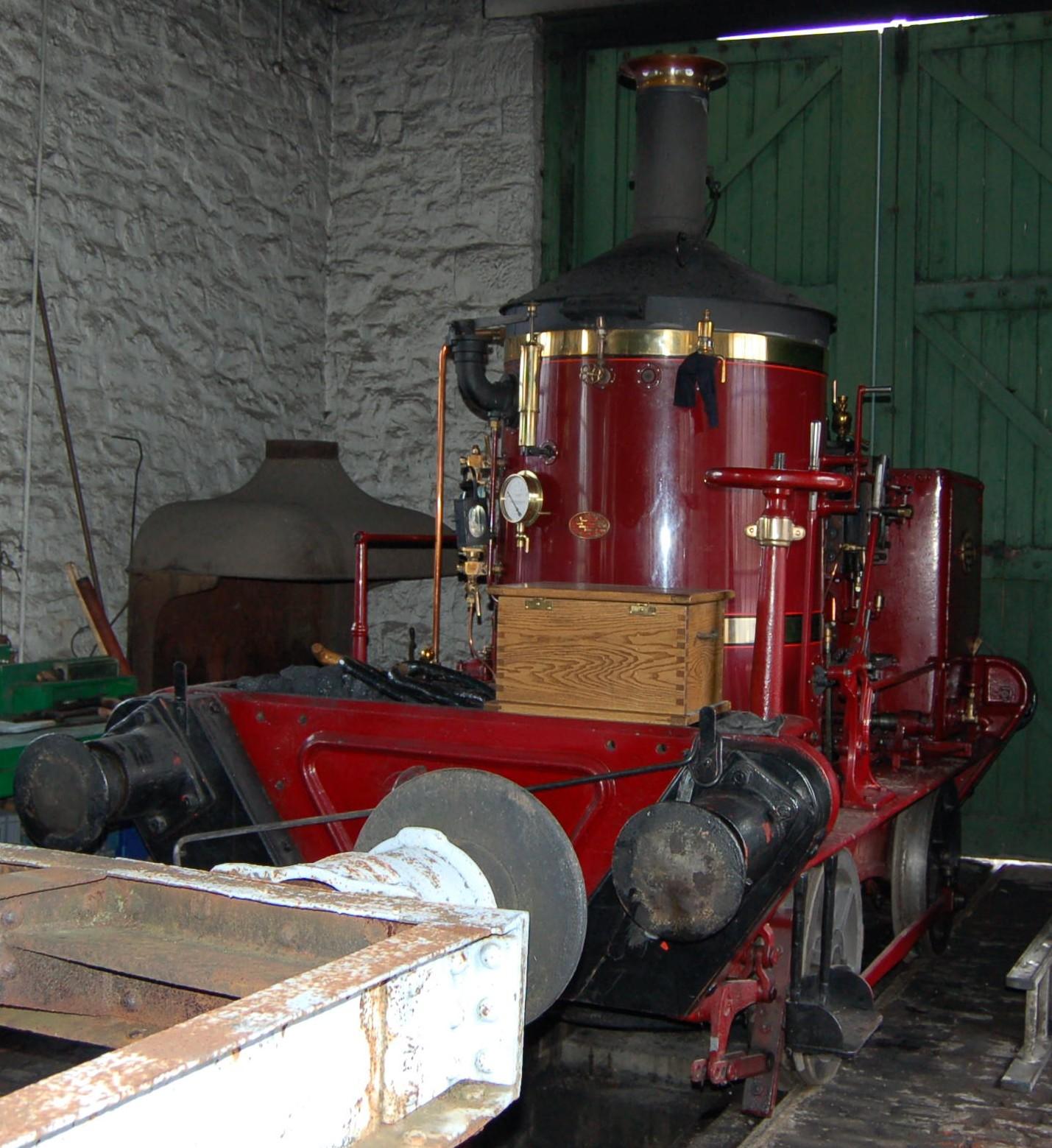 Filecoffee Pot No 1 Engine Works Interior Colliery Beamish