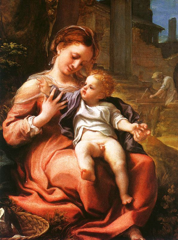 Correggio Jupiter And Ganymede