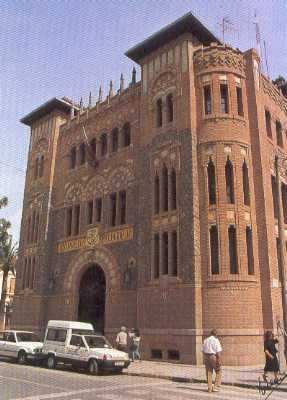 Edificio de correos de castell n wikipedia la for Oficinas bankinter castellon