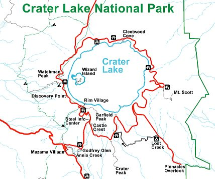 Crater Lake National Park Travel guide at Wikivoyage