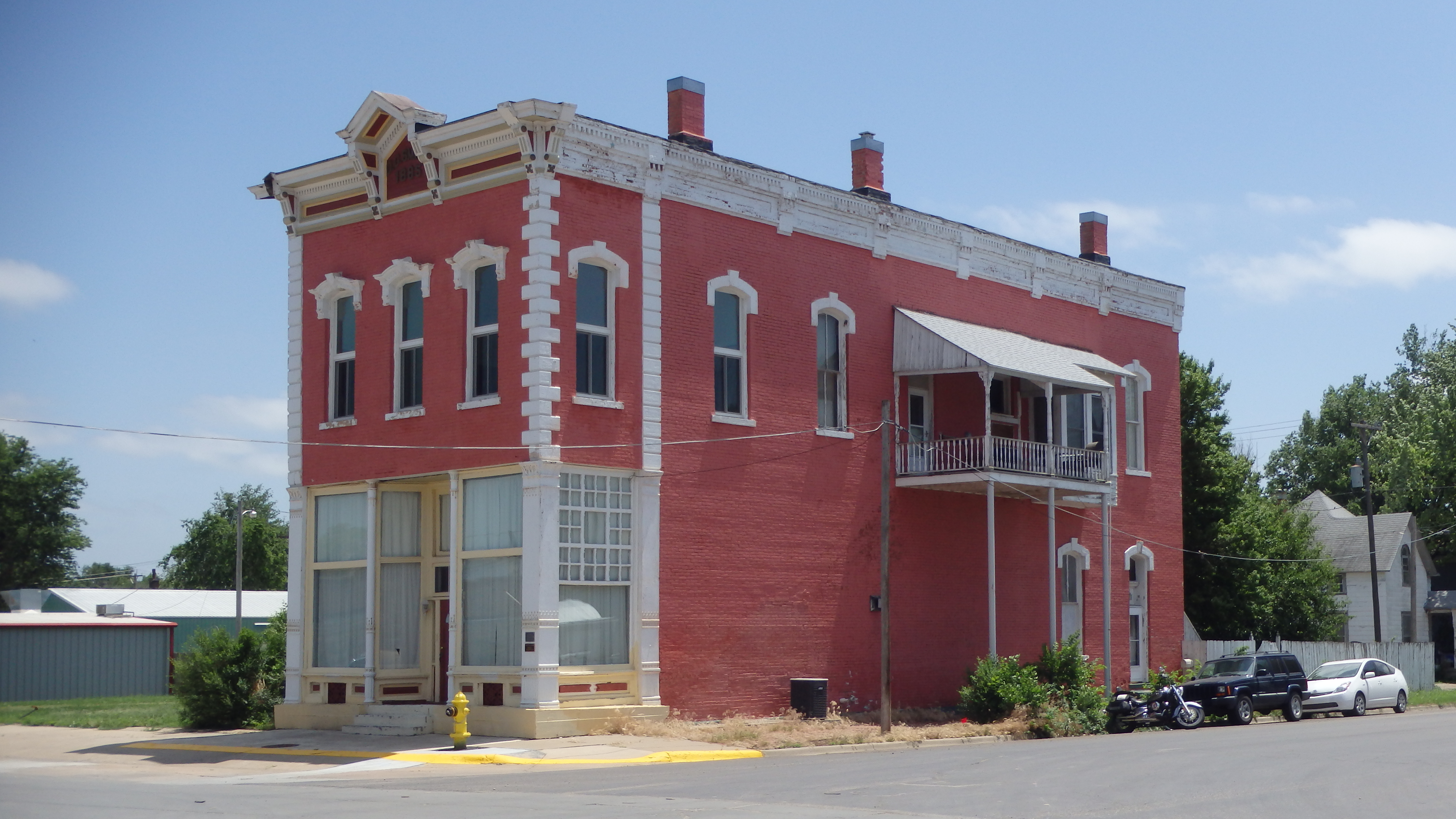 File d g smith building abilene ks 14177187079 jpg for Smith house construction
