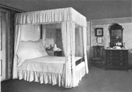 Filedawesfield George Washington Bedroom From The Morris Family Of Philadelphia Volume  Jpg