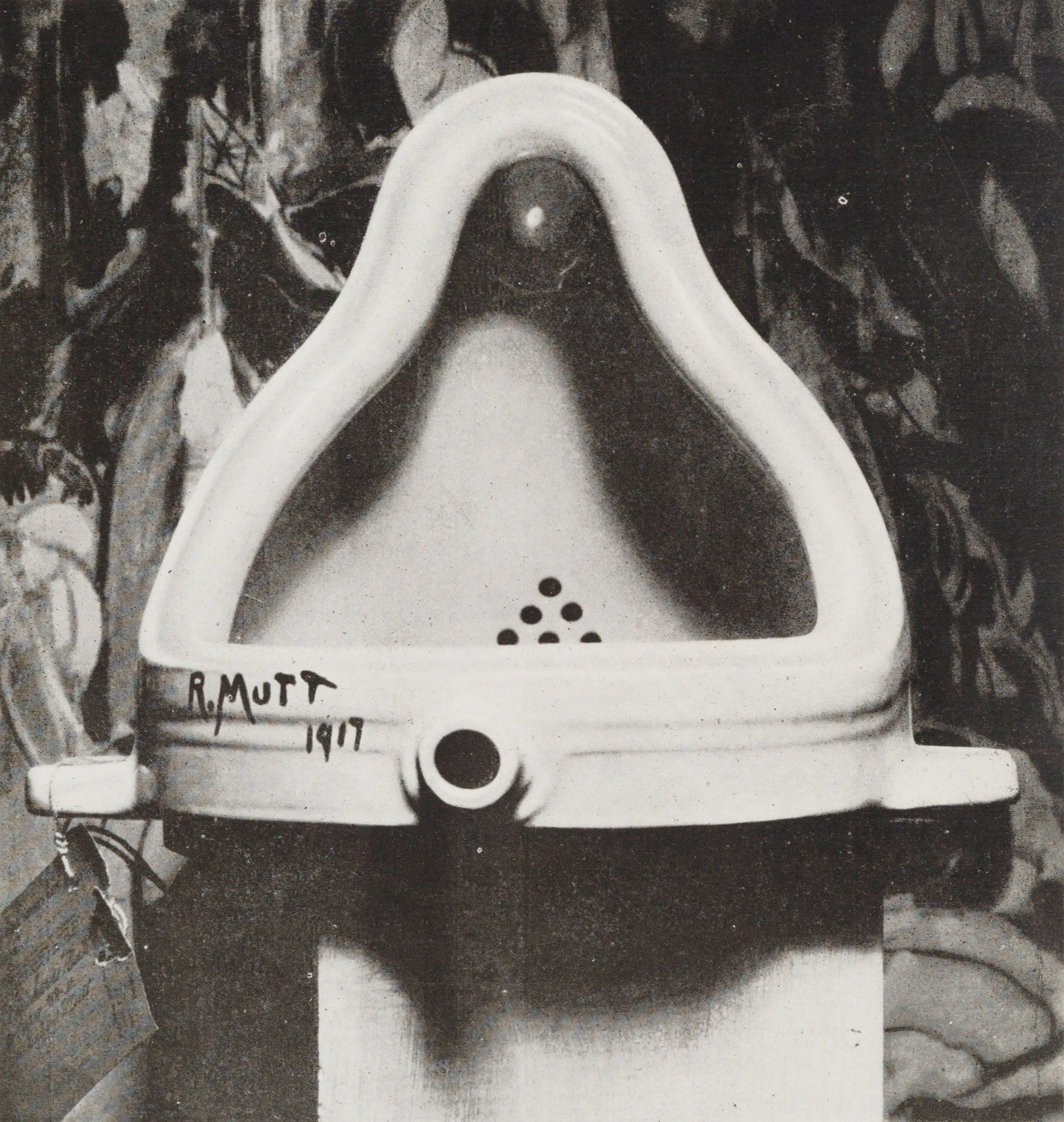 Image result for duchamp the fountain