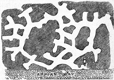 EB1911 Catacomb - Fig. 16.—Arenaria beneath the Cemetery of Calixtus.jpg