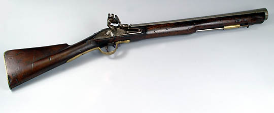 English blunderbuss gun with bayonet by Goddard For Sale ...