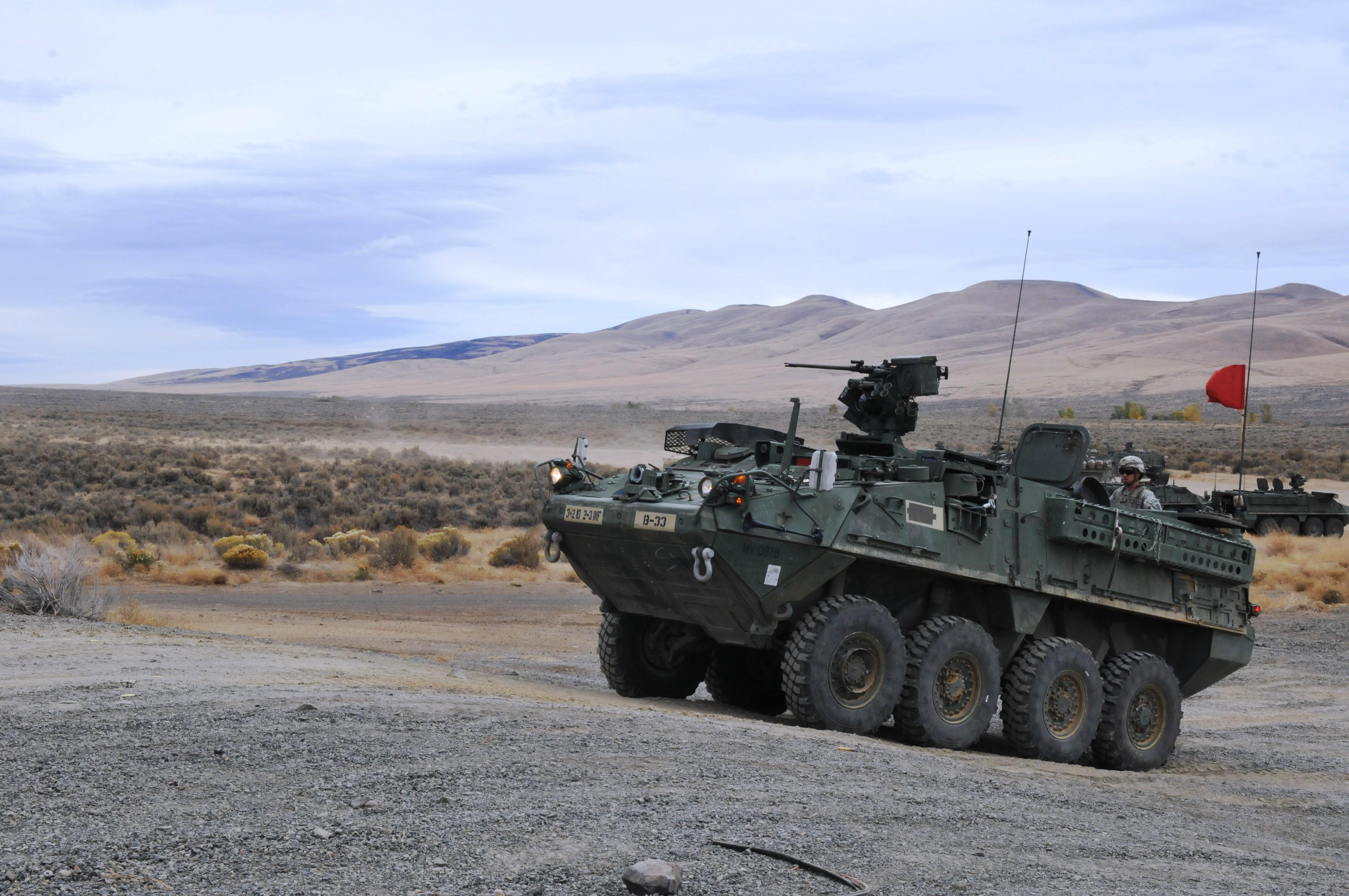 U.S. Army Stryker Brigade Combat Teams