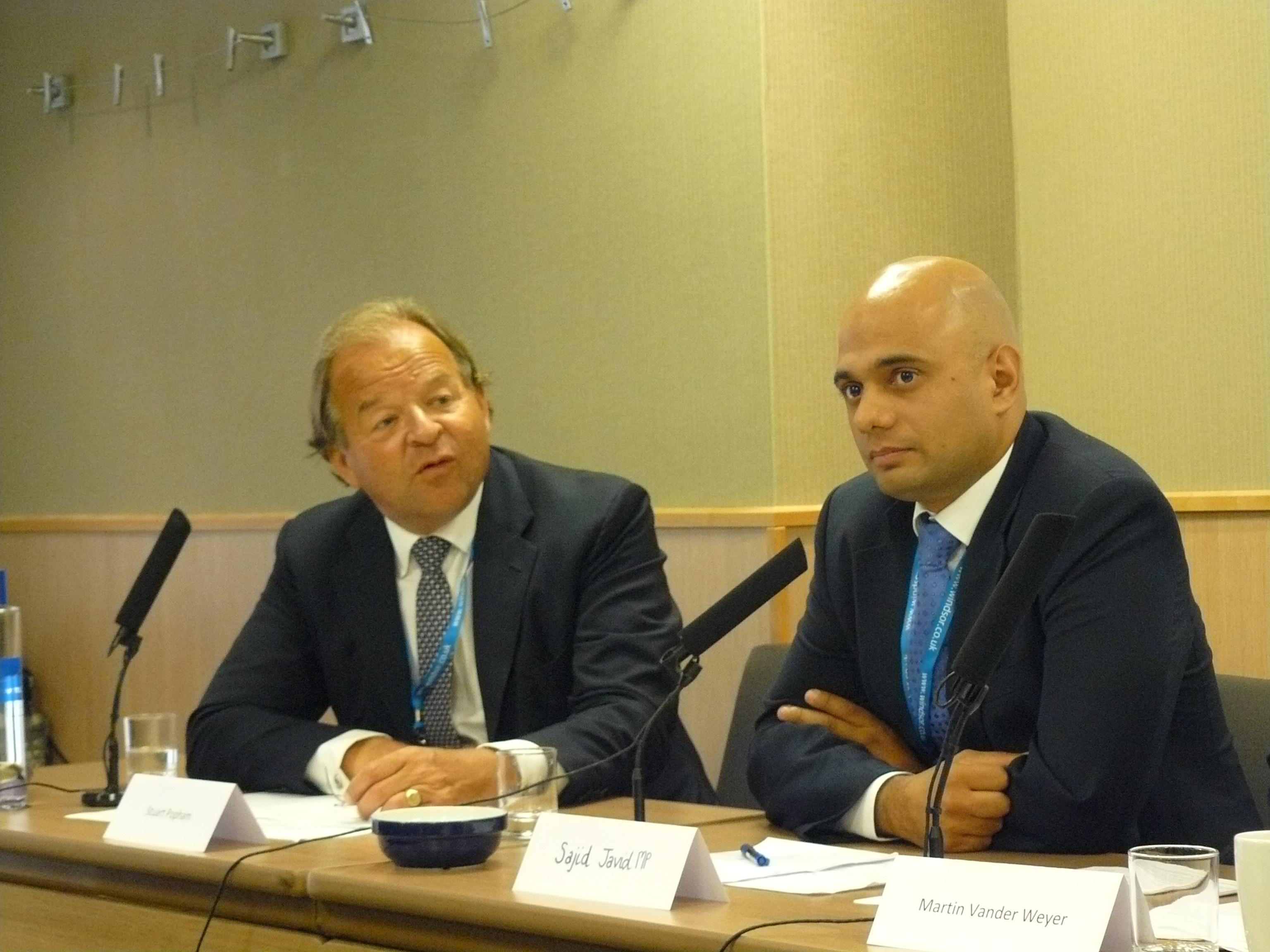 File:From left to right Stuart Popham and Sajid Javid MP.jpg ...