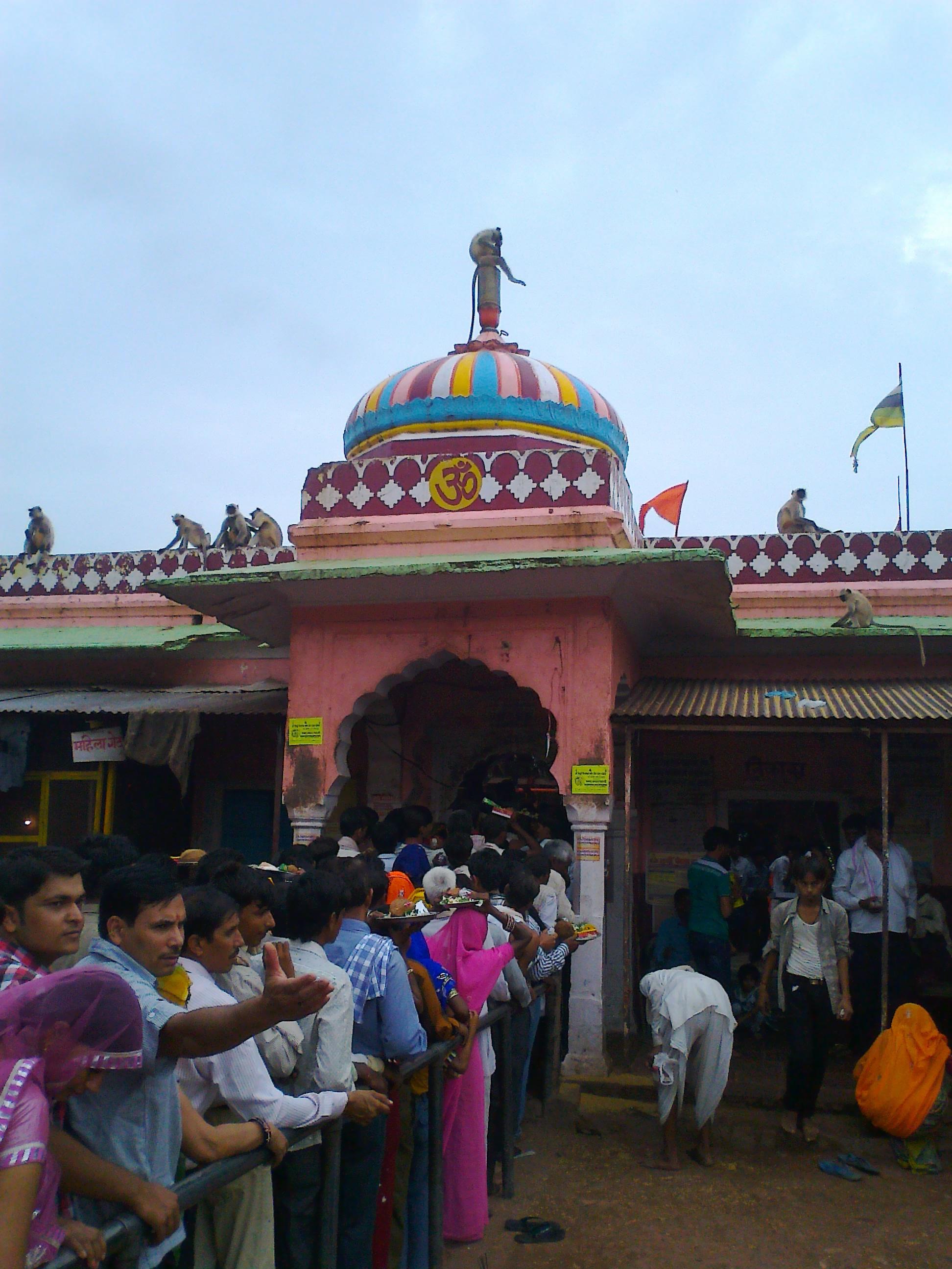 Ganesh temple in Ranthambore