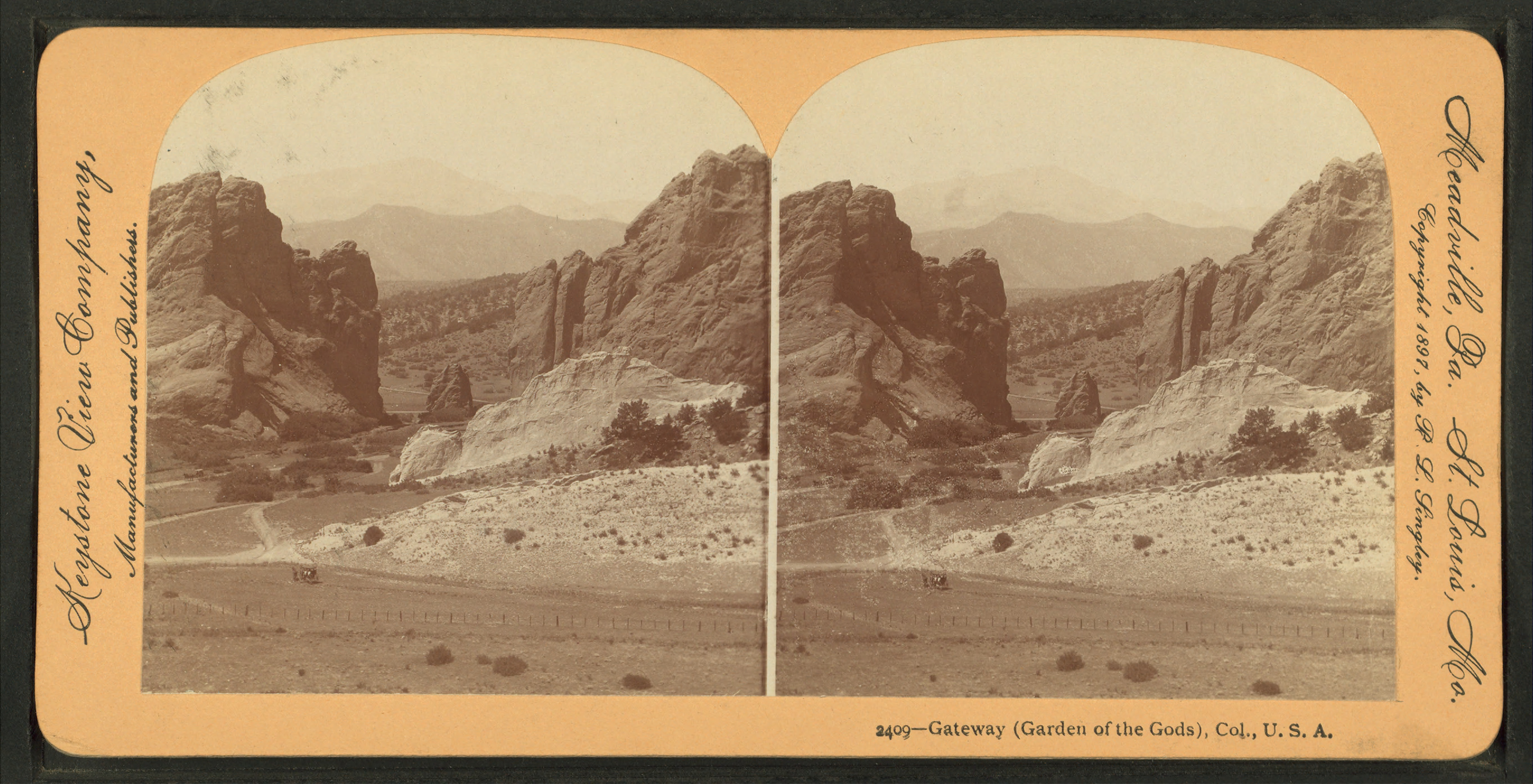 File Gateway Garden Of The Gods Colorado U S A From Robert N Dennis Collection Of