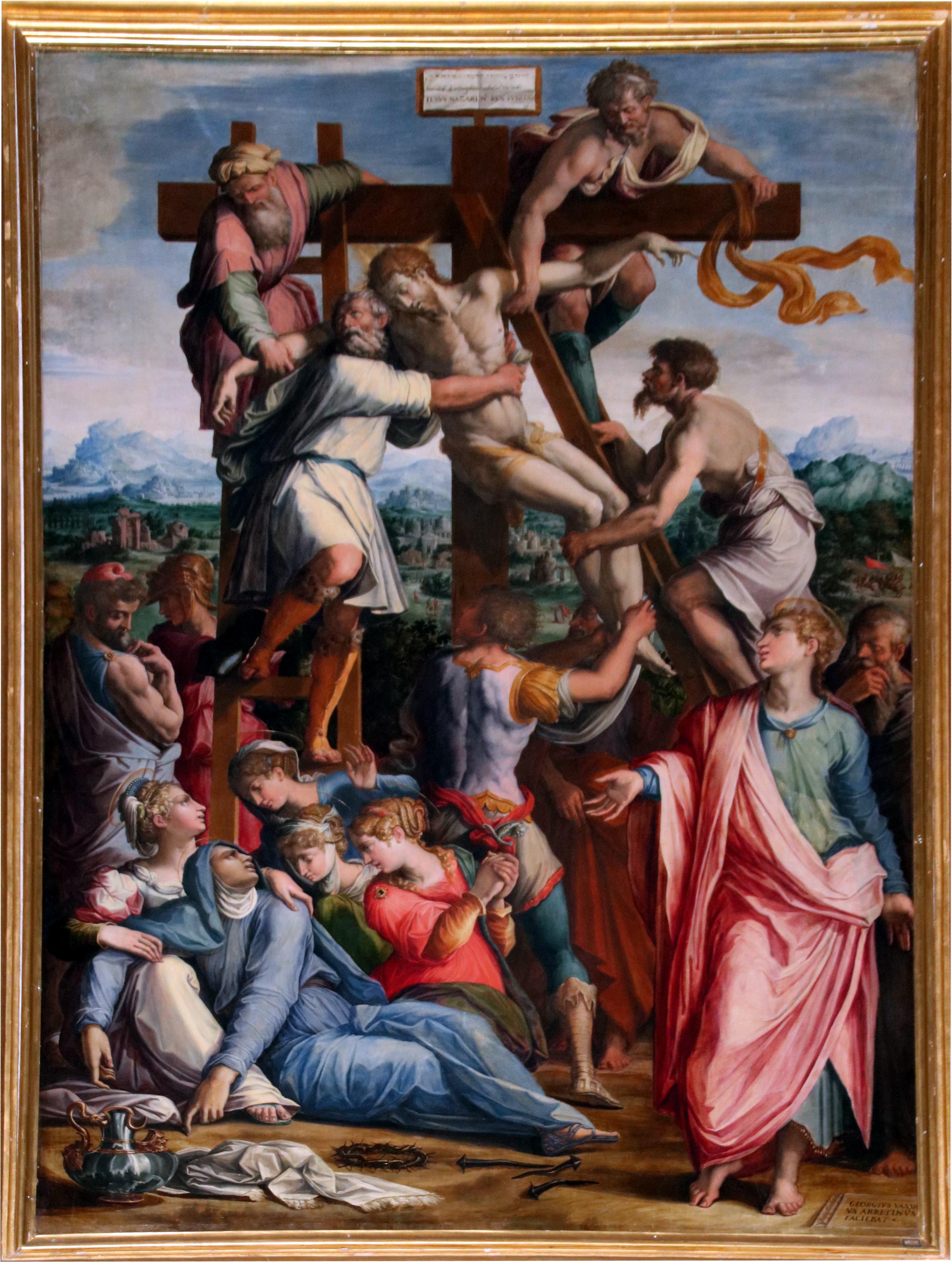 Risultato immagini per Chiesa dei Santi Donato e Ilariano  Giorgi Vasari