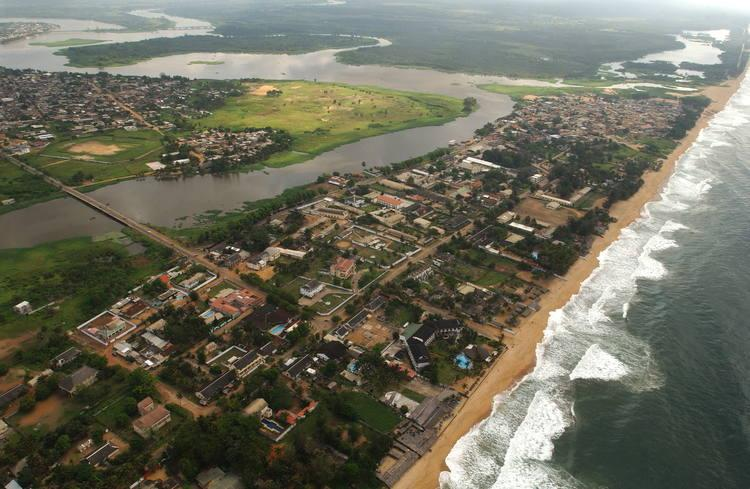 City of Grand Bassam, Ivory Coast