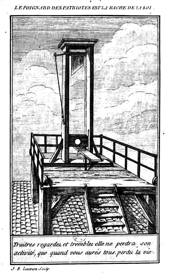 And Louis XVI Guillotine