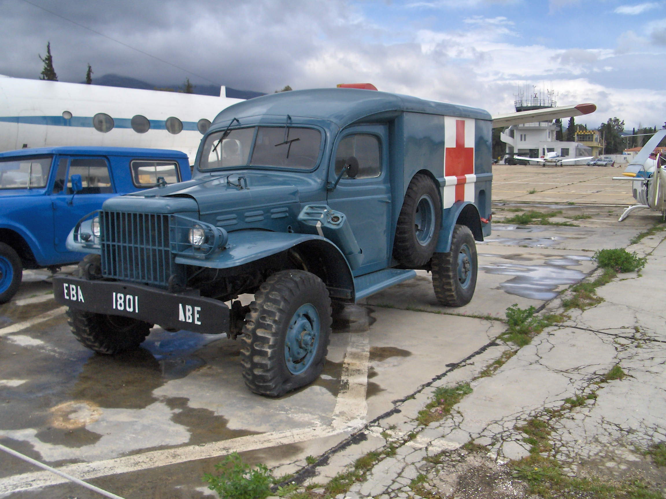 Dodge trucks in wwii -  Wc54 Dodge Usarmy Ambulance Wwii Ww2 Worldwartwo 1944 Over There Museum Of World War Two More Http Instagram Com Atthefrontline Pinterest