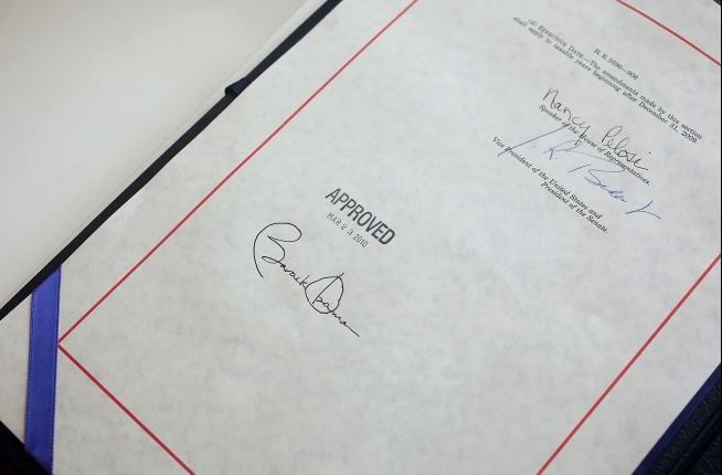 File:Health insurance reform bill signature 20100323.jpg