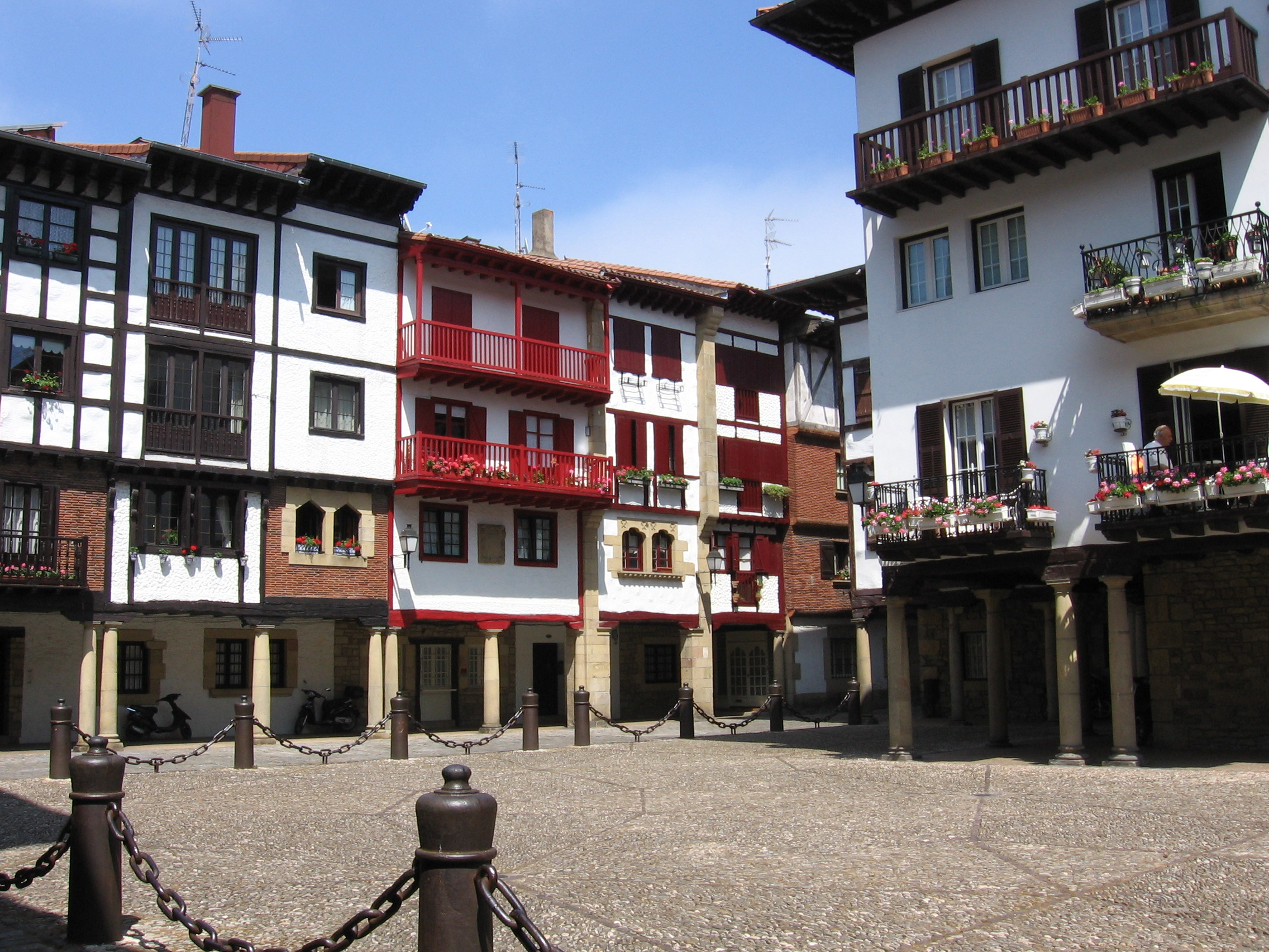 Hondarribia Spain  City new picture : This licensing tag was added to this file as part of the GFDL ...