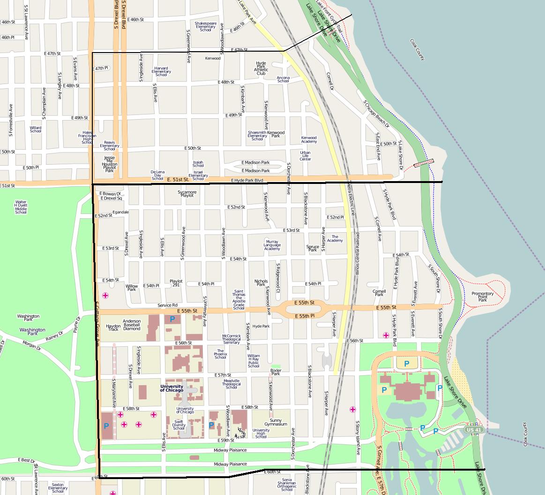 Chicago Zip Code Hyde Park